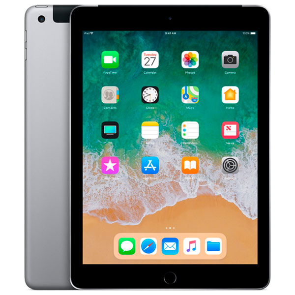 Планшет Apple iPad(2018)32GB Wi-Fi+Cellular Space Gr(MR6N2RU/A) ipad mini 32gb wifi cellular в кредит