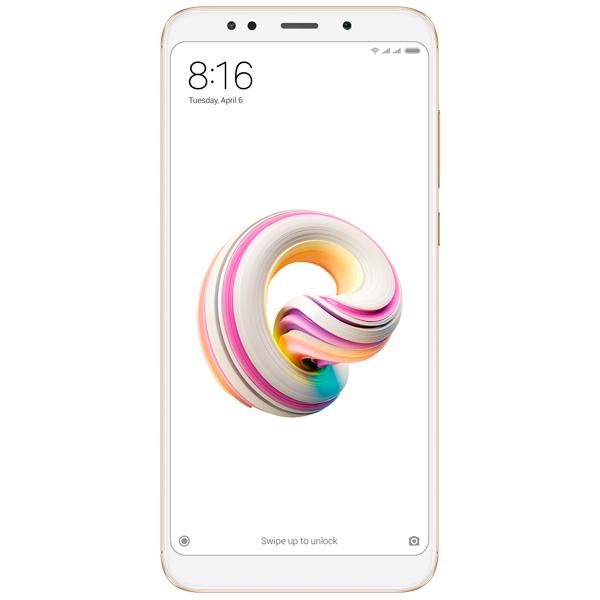 Смартфон Xiaomi Redmi 5 Plus 32Gb Gold смартфон xiaomi redmi pro 32gb silver