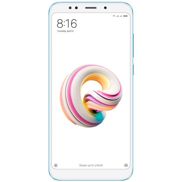Смартфон Xiaomi Redmi 5 Plus 64Gb Blue телефон xiaomi mi5s plus 64gb золотой