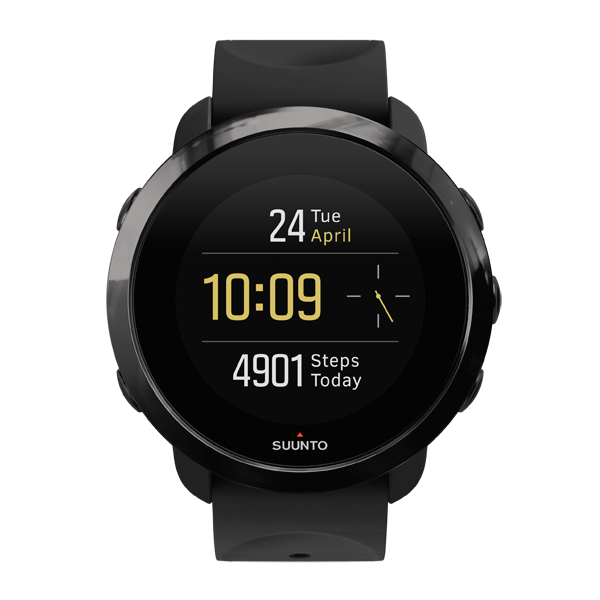 Спортивные часы Suunto 3 Fitness All Black (SS050020000) спортивные часы suunto essential ceramic all black tx