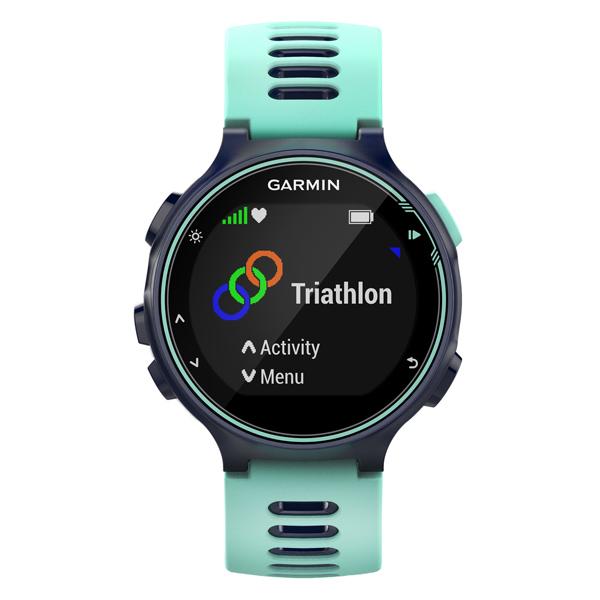 Спортивные часы Garmin Forerunner 735XT HRM-Run Blue (010-01614-16) garmin forerunner 620 white orange hrm russia