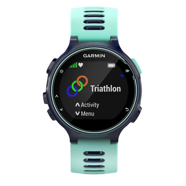 Спортивные часы Garmin Forerunner 735XT HRM-Tri/Swim Blue (010-01614-10) часы garmin forerunner 935