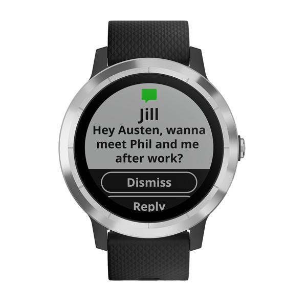 Купить Спортивные часы Garmin Vivoactive 3 Silicone Steel/Black в каталоге интернет магазина М.Видео по выгодной цене с доставкой, отзывы, фотографии - Краснодар