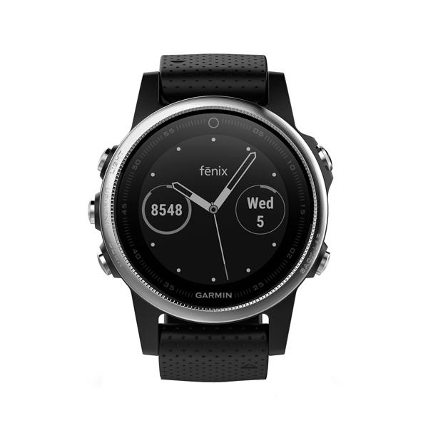 Спортивные часы Garmin Fenix 5S Black GPS (010-01685-02) видеорегистратор garmin dashcam 65w 010 01750 15