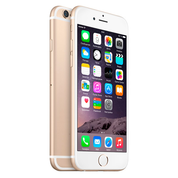 Смартфон Apple iPhone 6 32GB Gold (MQ3E2RU/A) смартфон apple iphone 7 plus 32gb mnqm2ru a черный
