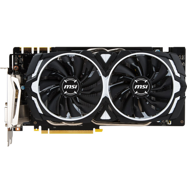 Видеокарта MSI GeForce GTX 1070 Ti 8GB Armor