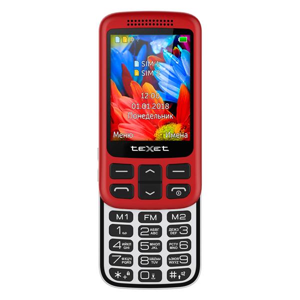 Мобильный телефон teXet TM-501 Red texet tm 515r dual sim red