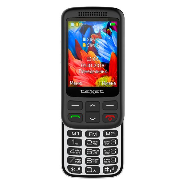 Мобильный телефон teXet — TM-501 Black
