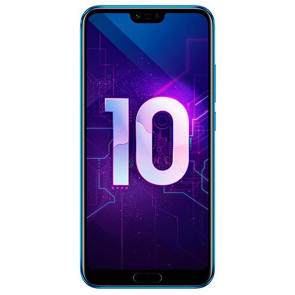 Смартфон Honor 10 64Gb Blue (COL-L29) смартфон huawei p10 64gb lte blue vtr l29