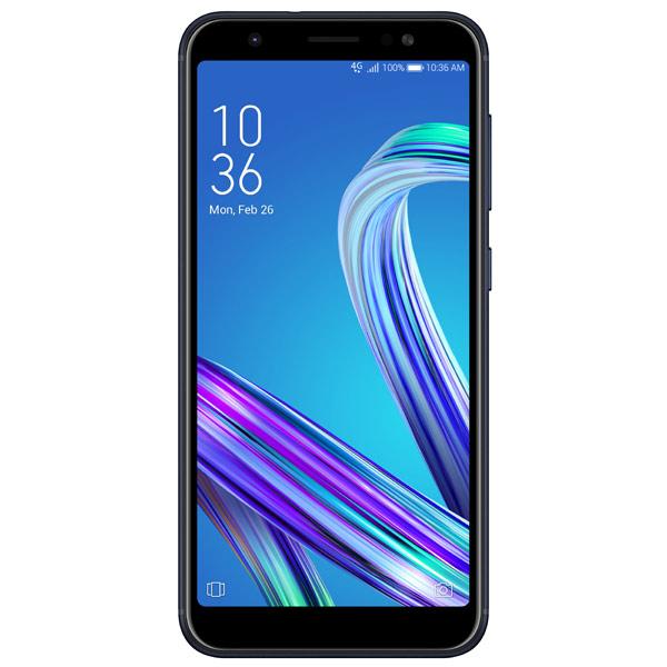 Смартфон ASUS ZenFone Max M1 ZB555KL 32Gb Black (4A044RU) смартфон asus zenfone max plus zf4 zb570tl 32gb black