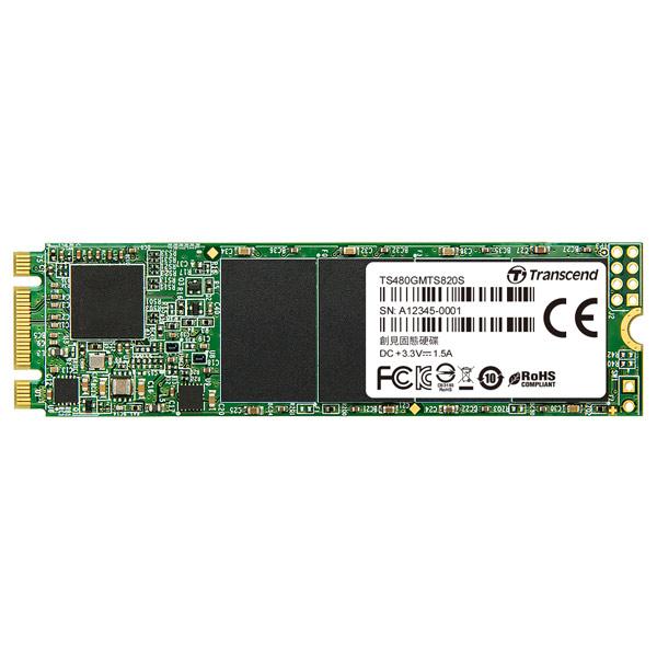 Внутренний SSD накопитель Transcend — 480GB (TS480GMTS820S)