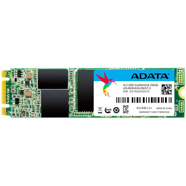 Внутренний SSD накопитель ADATA 256GB ASU800NS38-256GT-C Ultimate SU800