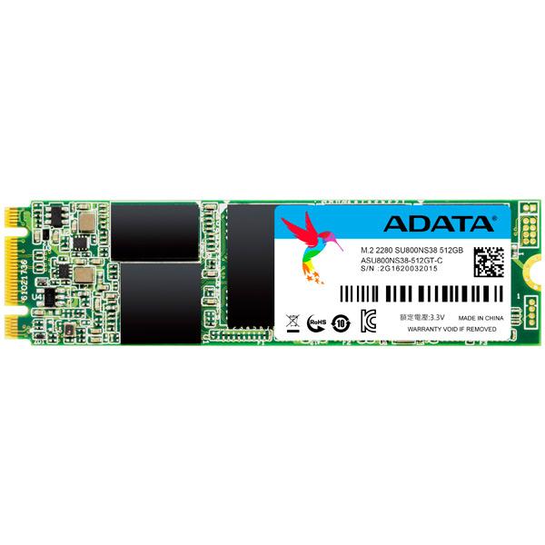 Внутренний SSD накопитель ADATA 512GB ASU800NS38-512GT-C Ultimate SU800