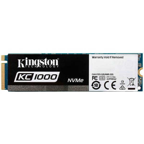 Внутренний SSD накопитель Kingston — 960GB SSDNow KC1000