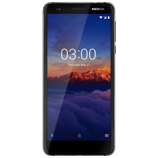Смартфон Nokia 3.1 Black (TA-1063)