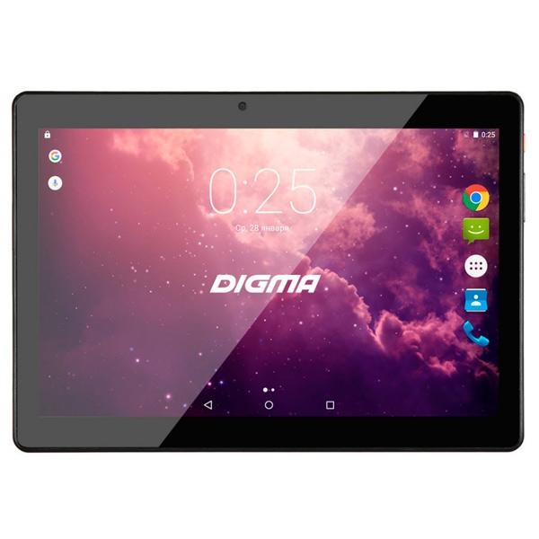 Планшетный компьютер Android Digma Plane 1524 10.1 3G Black планшетный компьютер android digma optima prime 4 3g black