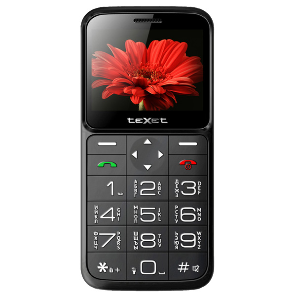 Мобильный телефон teXet TM-B226 Black/Red texet tm d226 dual sim red black