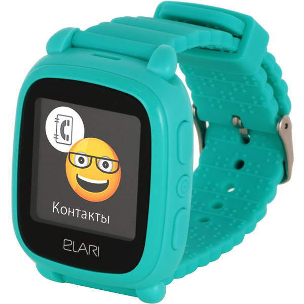 Часы с GPS трекером Elari Kid Phone 2 Green