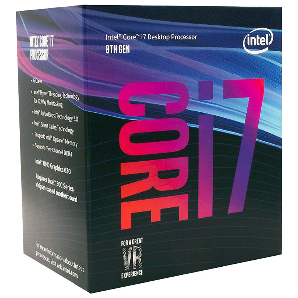 Купить Процессор Intel Core i7-8700 (BX80684I78700) в каталоге интернет магазина М.Видео по выгодной цене с доставкой, отзывы, фотографии - Москва