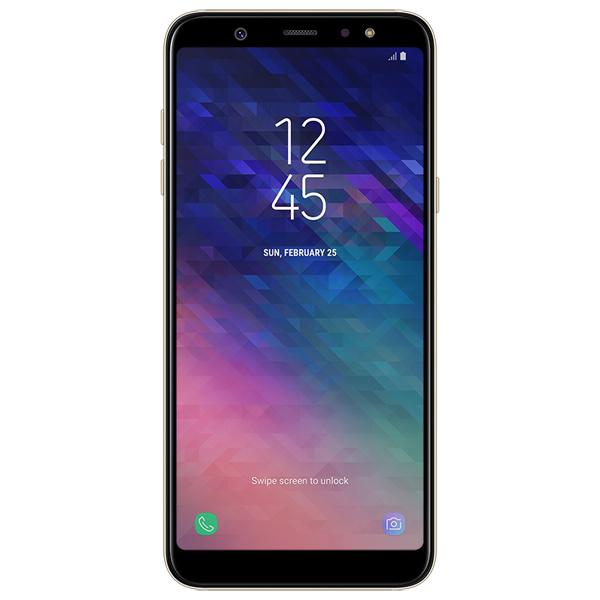 Смартфон Samsung Samsung Galaxy A6+ Gold (2018) (SM-A605FN/DS) samsung galaxy a3 sm a310f ds gold