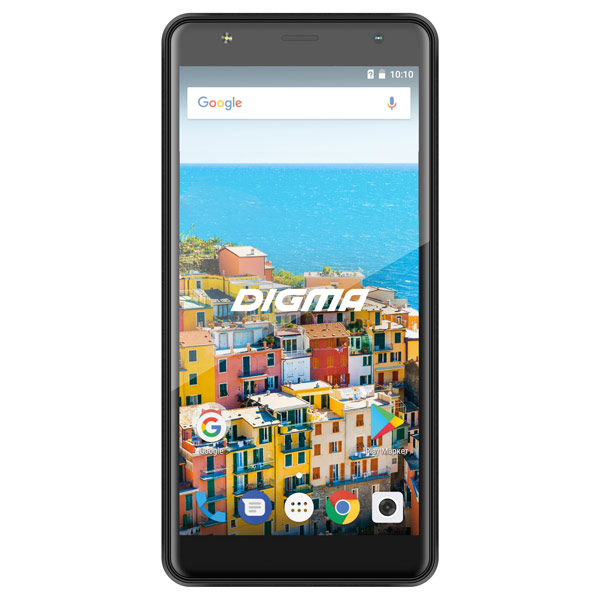 Смартфон Digma LINX B510 3G 16Gb Black