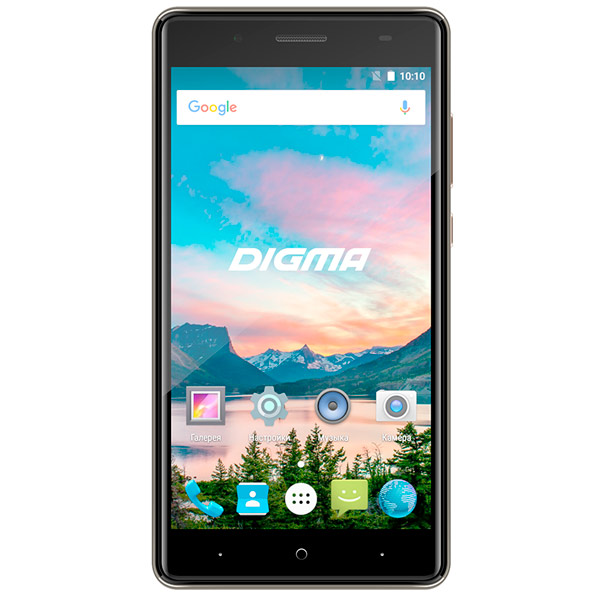 Смартфон Digma HIT Q500 3G 8Gb Gray смартфон 5 digma vox s505