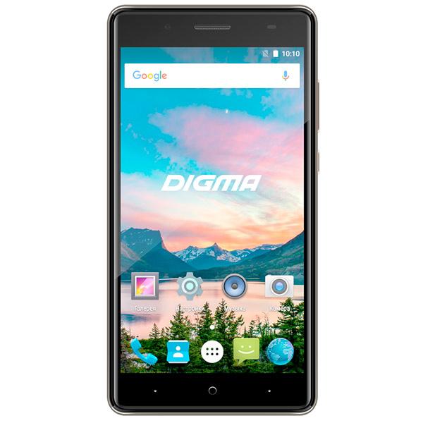 Смартфон Digma HIT Q500 3G 8Gb Gray digma optima 7008 3g