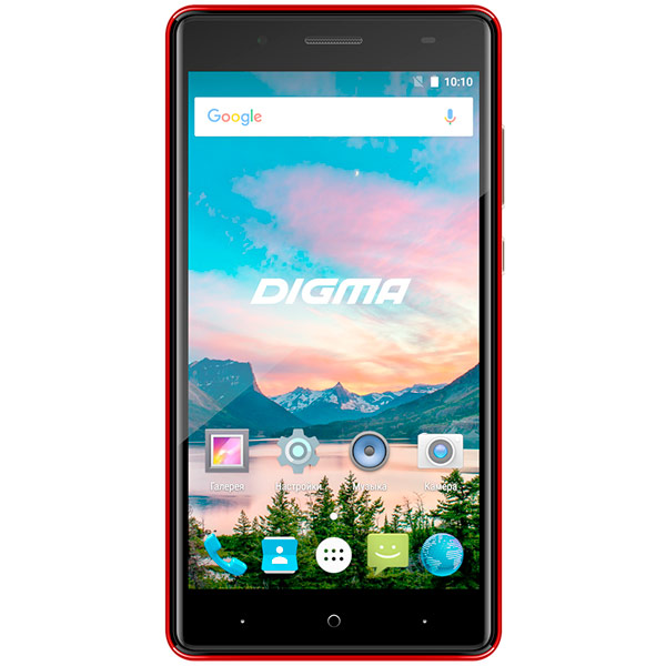 Смартфон Digma HIT Q500 3G 8Gb Dark Red