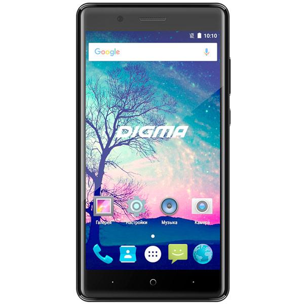 Смартфон Digma VOX S508 3G 16Gb Black