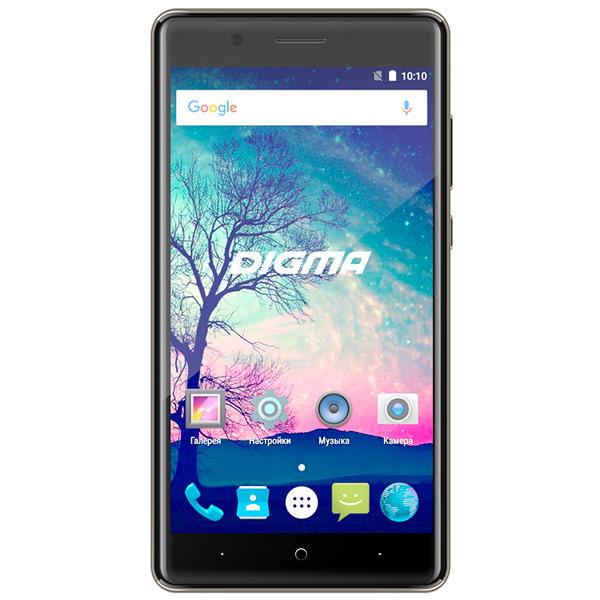 Смартфон Digma VOX S508 3G 16Gb Gray смартфоны digma смартфон s501 3g vox белый