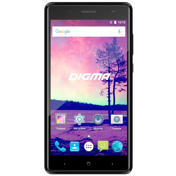 Смартфон Digma VOX S509 3G 16Gb Black смартфон digma vox g500 3g 8gb черный vs5027mg