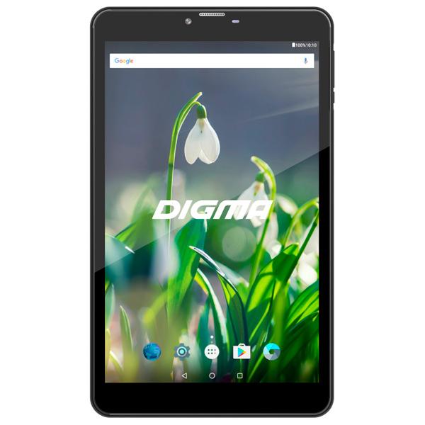 Планшетный компьютер Android Digma Plane 8522 3G Black планшетный компьютер android digma optima prime 4 3g black