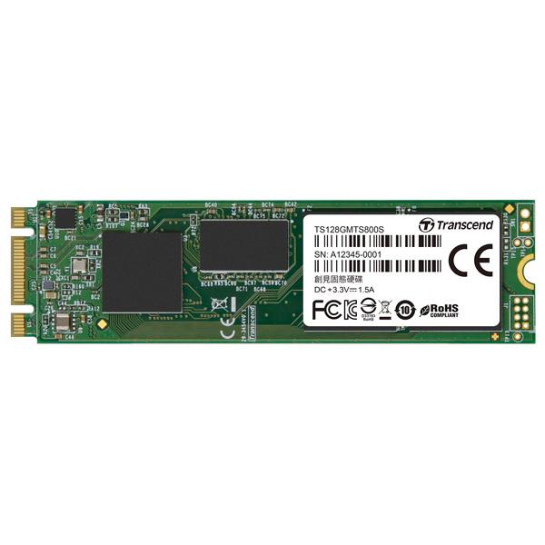 Внутренний SSD накопитель Transcend 128GB (TS128GMTS800S)