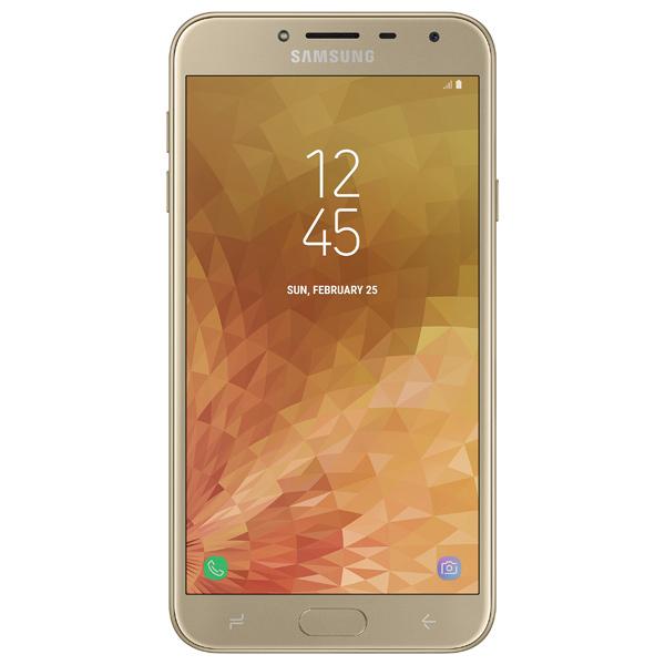 Смартфон Samsung Samsung Galaxy J4 (2018) Gold samsung predstavila aluminievyi smartfon galaxy on nxt