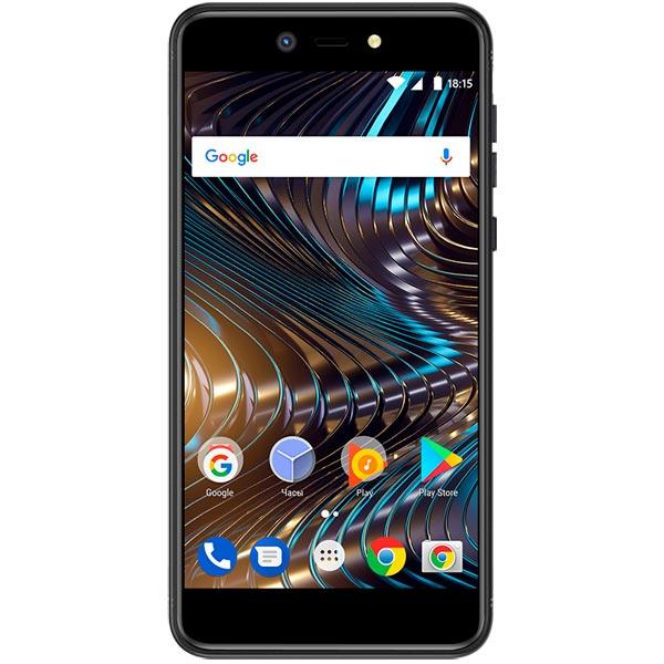 Смартфон BQ mobile BQ-5209L Strike LTE Black смартфон bq bq 5057 strike 2 черный 5 8 гб wi fi gps 3g