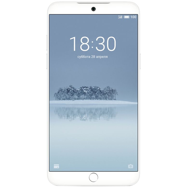 Смартфон Meizu 15 64Gb+4Gb White (M881H) finesource g7 android 4 4 quad core wcdma bar phone w 5 5 4gb rom wi fi gps ota black