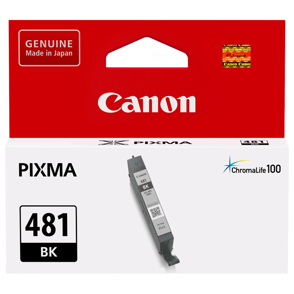 Картридж для струйного принтера Canon CLI-481 BK Black картридж для принтера canon cli 8r 0626b024 red