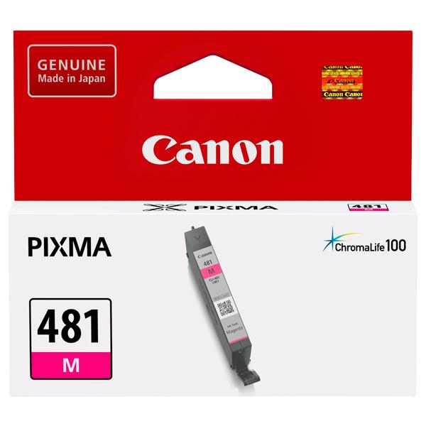 Картридж для струйного принтера Canon CLI-481 M Magenta