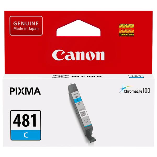 Картридж для струйного принтера Canon CLI-481 C Cyan картридж canon cli 8c для ip4200 ip5200 0621b024