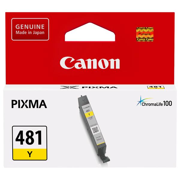 Картридж для струйного принтера Canon CLI-481 Y Yellow картридж для принтера canon cli 8r 0626b024 red