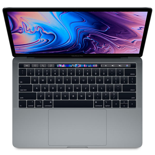 Ноутбук Apple Apple MacBook Pro 13 Touch Bar Core i7 2,7/8/1TB SSD SG ноутбук apple macbook pro 13 with touch bar z0um000p5 core i7 3 5ghz up to 4 0ghz 16gb 256gb ssd intel iris plus 650 space gray