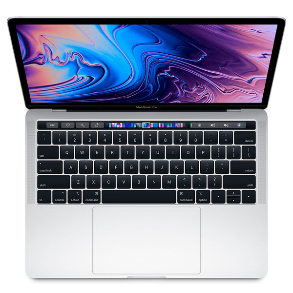 Ноутбук Apple Apple MacBook Pro 13 Touch Bar Core i7 2,7/8/512SSD Sil электронная книга pocketbook 626 plus grey 6 e ink carta 1024x758 touch screen 1ghz 256mb 4gb microsdhc подсветка дисплея