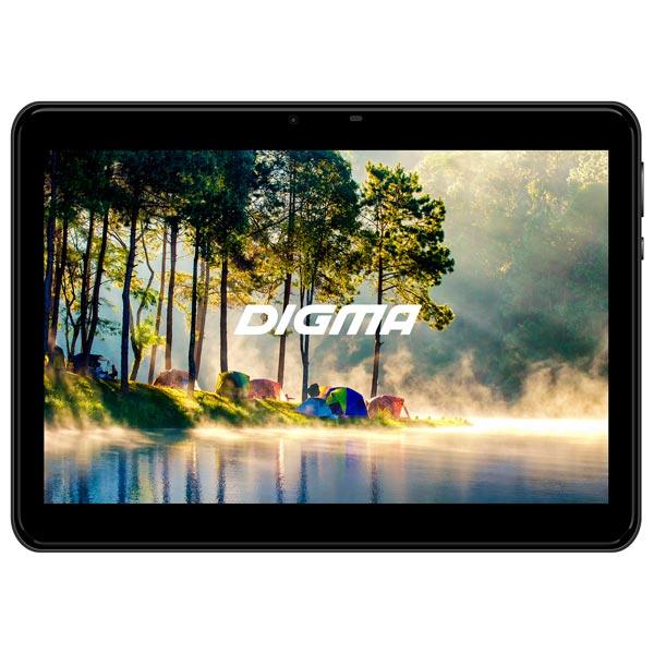 """Купить Планшет Digma Platina 1579M 10.1"""" 32Gb LTE Black (NS1800ML) в каталоге интернет магазина М.Видео по выгодной цене с доставкой, отзывы, фотографии - Санкт-Петербург"""