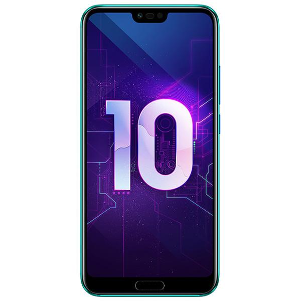 Купить Смартфон Honor 10 64Gb Phantom Green COL-L29  в каталоге интернет магазина МВидео по выгодной цене с доставкой отзывы фотографии - Москва