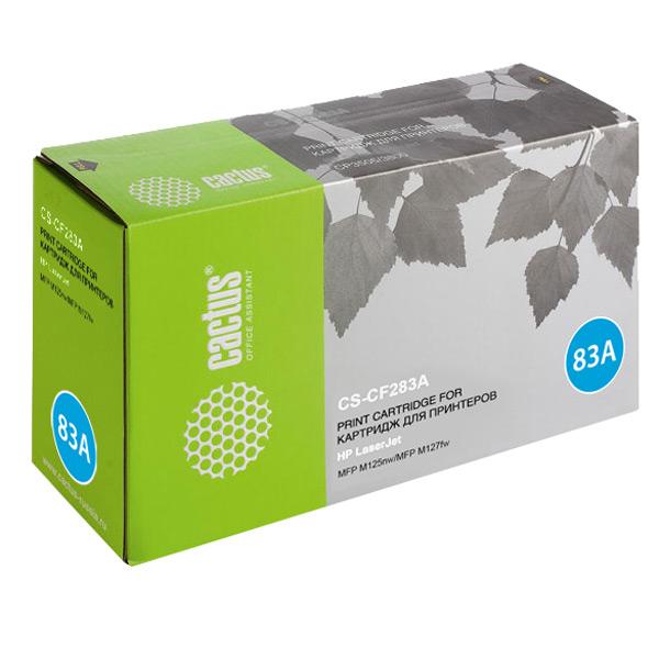 Картридж для лазерного принтера Cactus CS-CF283A Black для HP LJ Pro M125nw/M127fw (1500