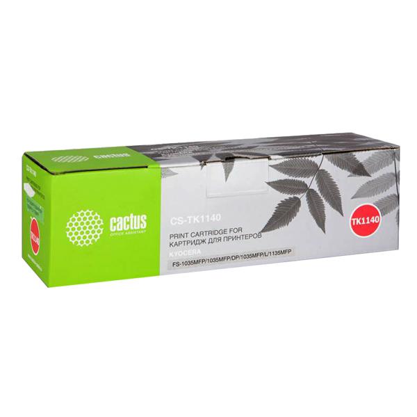 Картридж для лазерного принтера Cactus CS-TK1140 Black для Kyocera FS-1035/1135/M2535dn