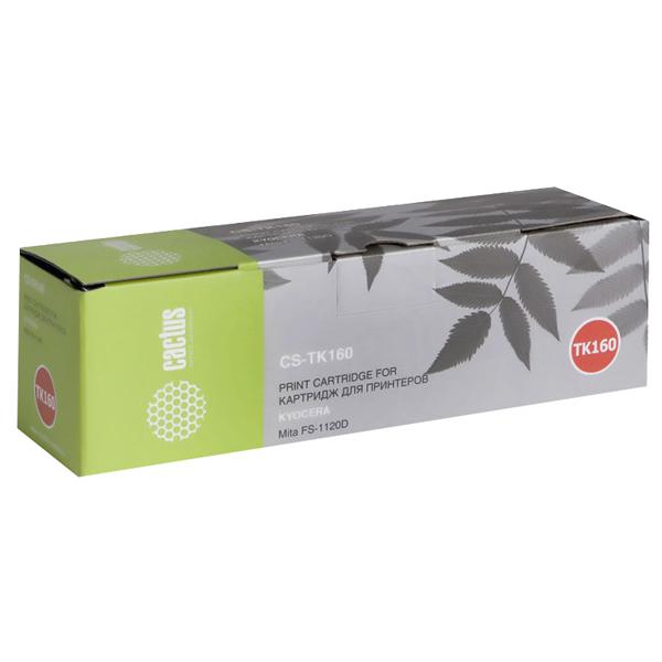 Картридж для лазерного принтера Cactus CS-TK160 Black для Kyocera Mita FS 1120D/1120DN/1