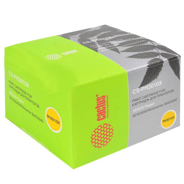Картридж для лазерного принтера Cactus CS-PH3010X 106R02183 Black для Xerox Phaser 3010/ фото