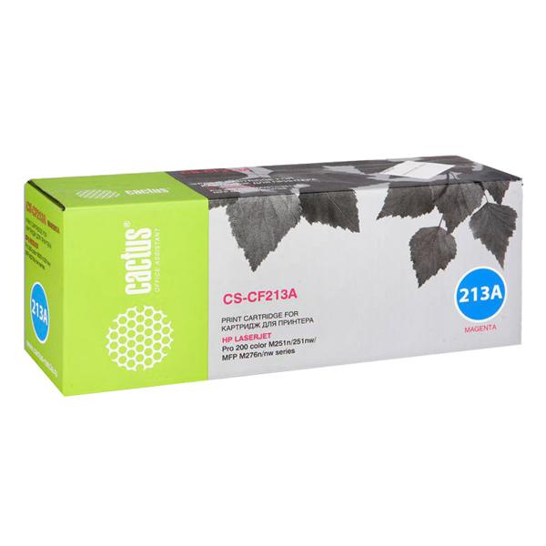 Картридж для лазерного принтера Cactus CS-CF213A Magenta для HP LJ Pro 200 M251/M276 (18