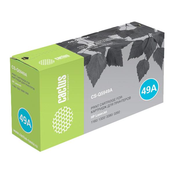 Картридж для лазерного принтера Cactus CS-Q5949AS Black для HP LJ 1160/1320/3390/3392 (2